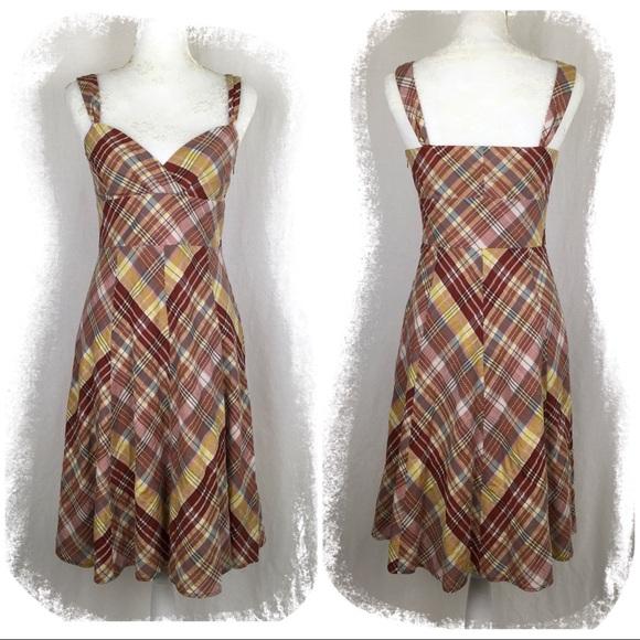dfb1ad5b160 Halogen Red   White Plaid Summer Dress